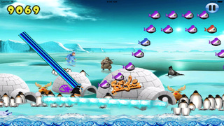 Happy Pinguin Jump PRO : Wourld Tour screenshot 1