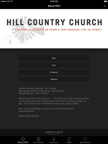 Hill Country Church screenshot 4