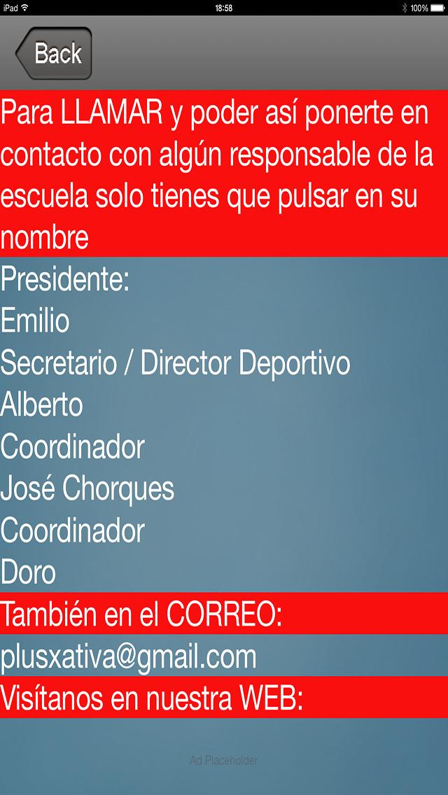 PLUSXATIVAIOS - Escuela Futbol Plus Xativa screenshot 4