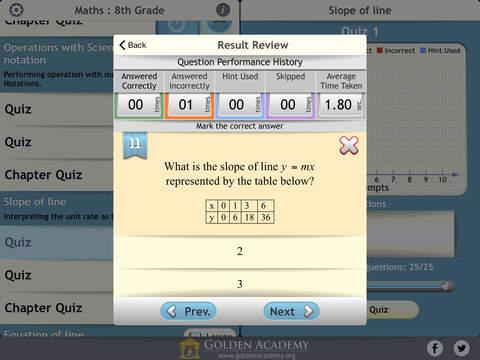 Middle School - Maths : 8th Grade screenshot 10