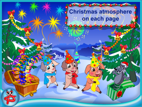 Christmas Night: Three Little Pigs Free Adventure screenshot 10