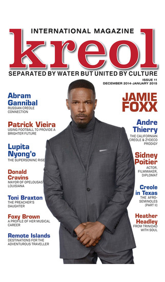 Kreol Magazine - Separated by water, but united by Culture screenshot 1