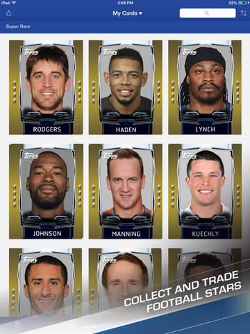 Topps NFL HUDDLE: Card Trader screenshot 9