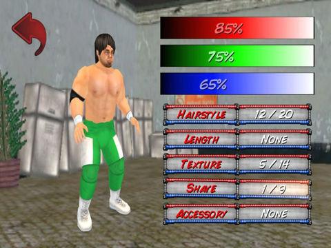 Wrestling Revolution 3D (Pro) screenshot 8