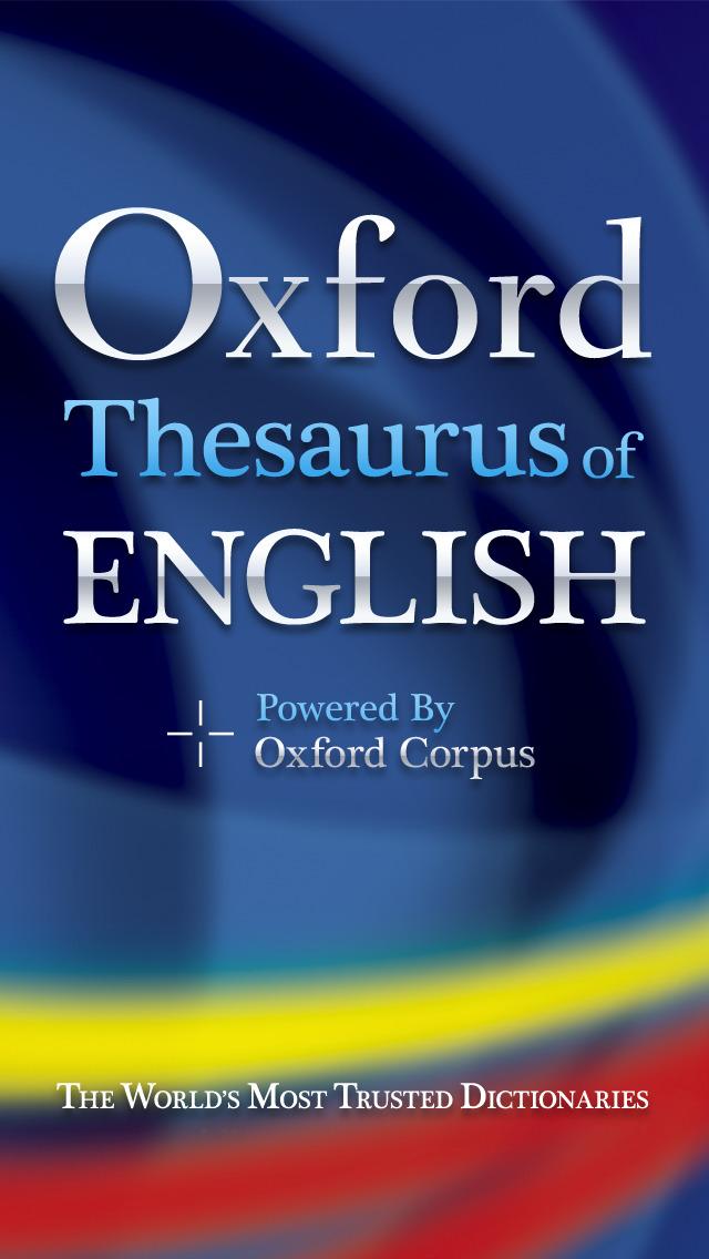 OTE (InApp) - Oxford Thesaurus of English screenshot 1