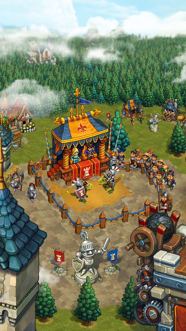 The Tribez & Castlez screenshot 2