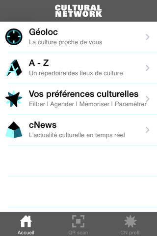 Cultural Network - náhled