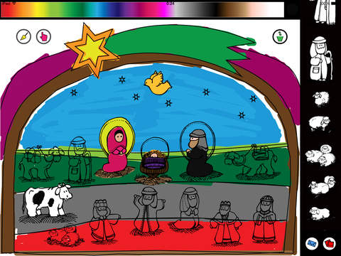NativityDraw screenshot 2