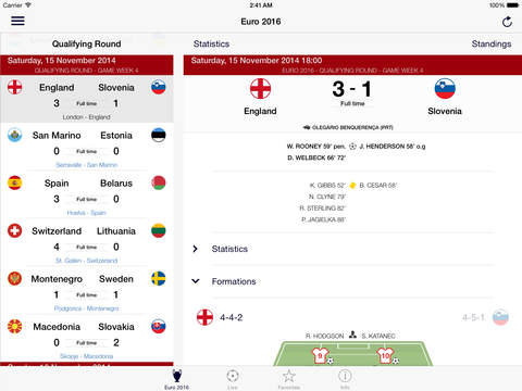 Footbapp screenshot #1