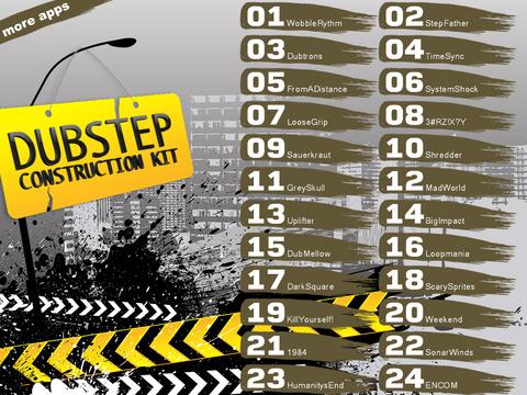 Dubstep Song Construction Kit screenshot 8