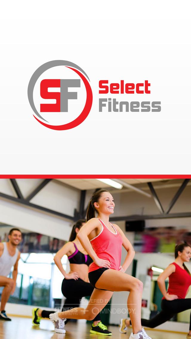 Select Fitness screenshot #1