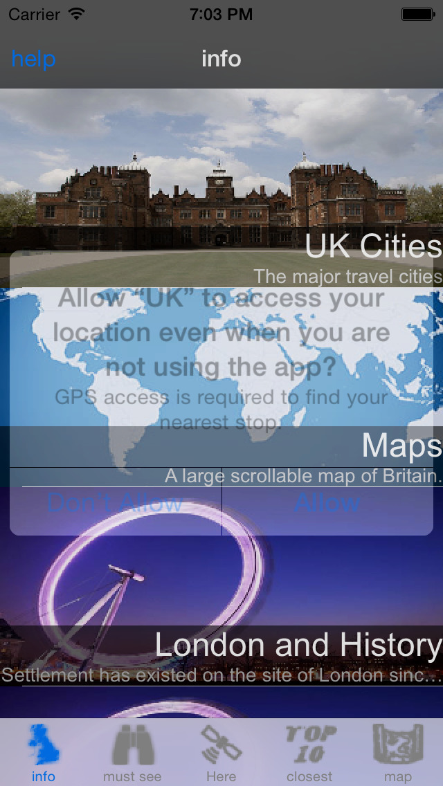 UK Travel Guide screenshot 4