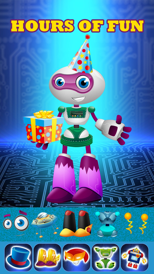 My Amazing Transforming Power Robot Dress Up Game Pro - Advert Free Game screenshot 3