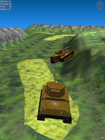 Tank Ace 1944 screenshot #2