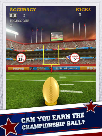 Flick Kick Field Goal Kickoff screenshot 10