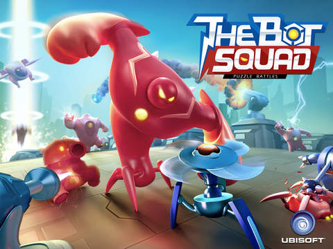 The Bot Squad: Puzzle Battles screenshot #1