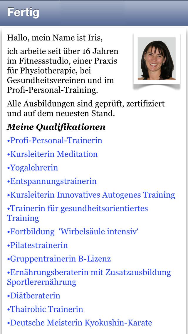 Beckenboden Audio Training screenshot 3