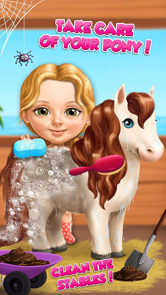 Sweet Baby Girl Summer Fun - No Ads screenshot 1