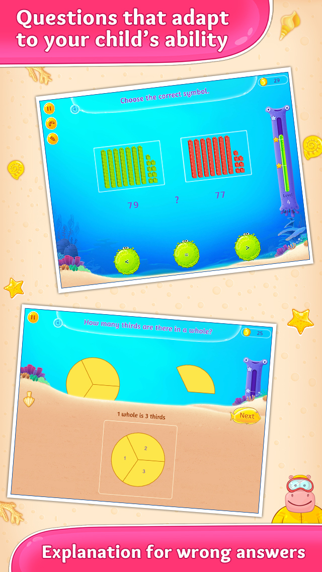2nd Grade Math Learning Games screenshot 3