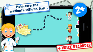 Kids Puzzle Teach me Hospital - Learn how to be a doctor or a nurse screenshot 1