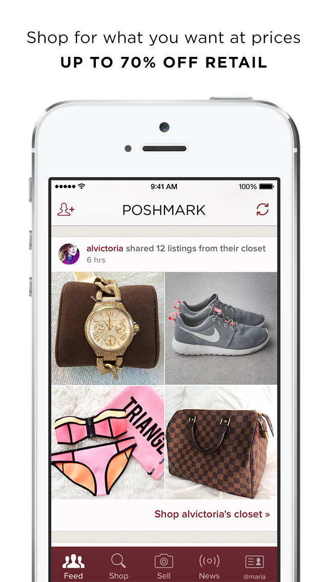 Poshmark screenshot 2