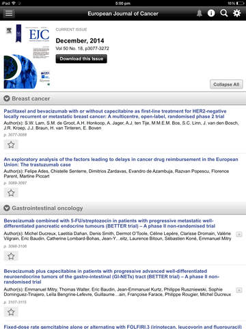European Journal of Cancer screenshot 9