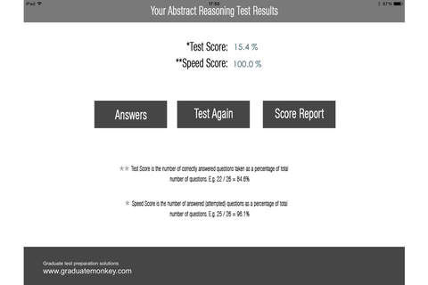Logical (Abstract) Reasoning Test - náhled