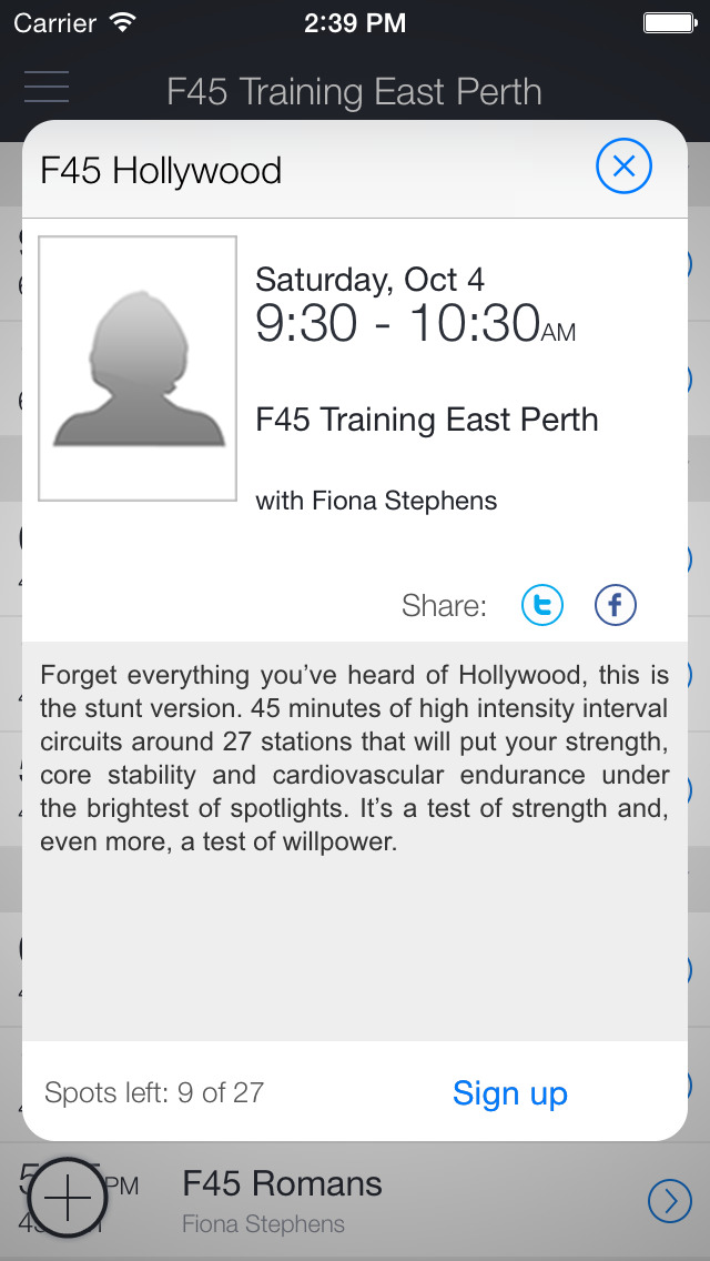 F45 Training East Perth screenshot 2