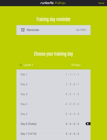 Pull-Ups Workouts & Trainer screenshot 10