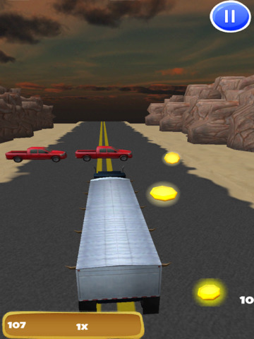 Big Rig Trucker: 3D Semi Truck Driving Game - FREE Edition screenshot 8