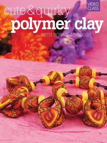 Polymer Clay Beading - MyCraftAcademy Class screenshot 6