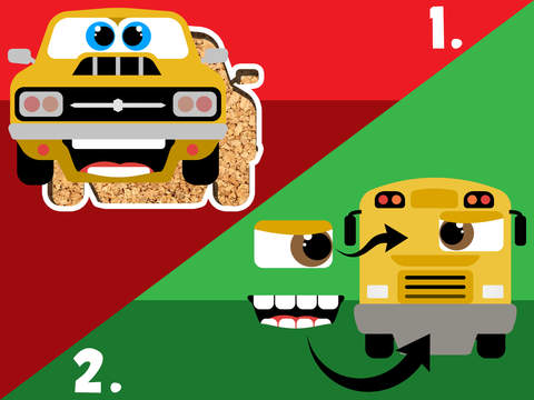 His first little Cars Jigsaw Puzzle Game for toddlers and preschoolers Free screenshot 8