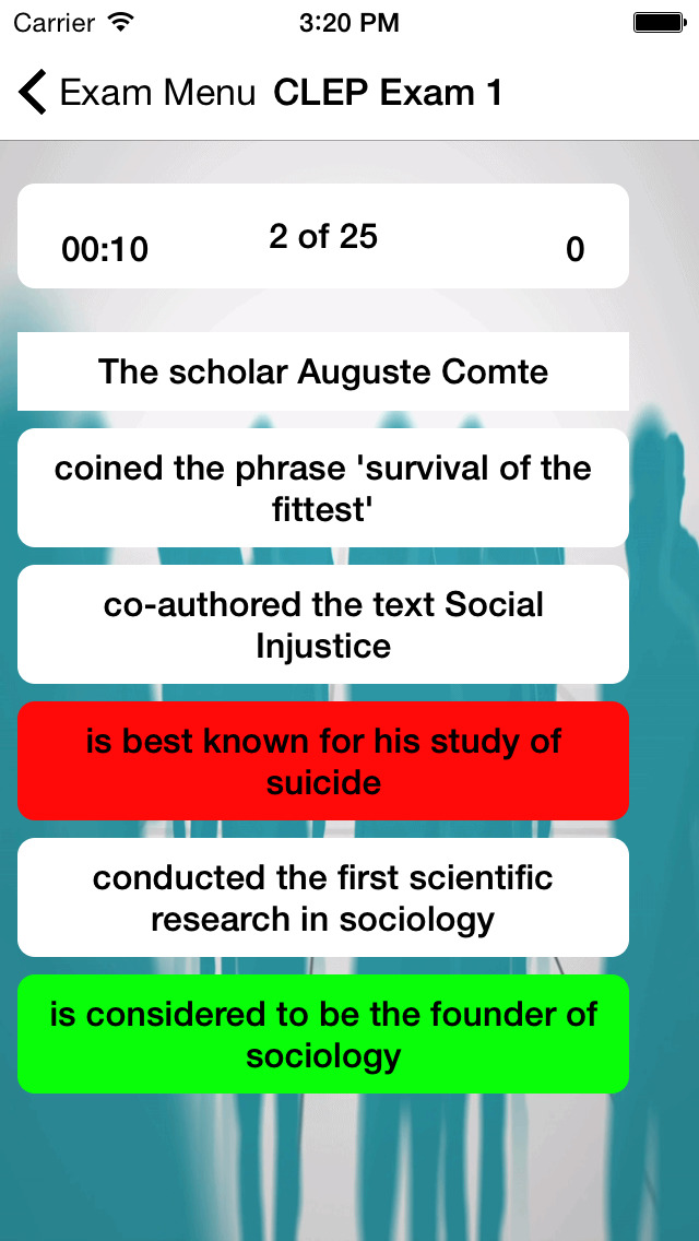 CLEP Sociology Buddy screenshot 3