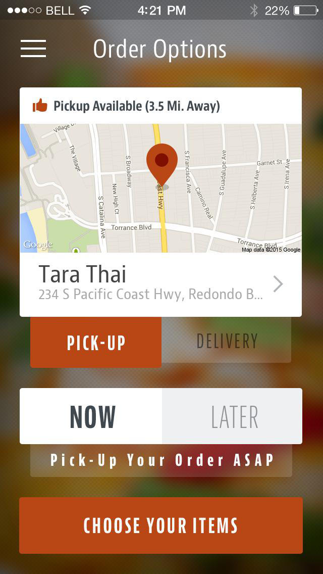 Tara Thai Restaurant screenshot 2