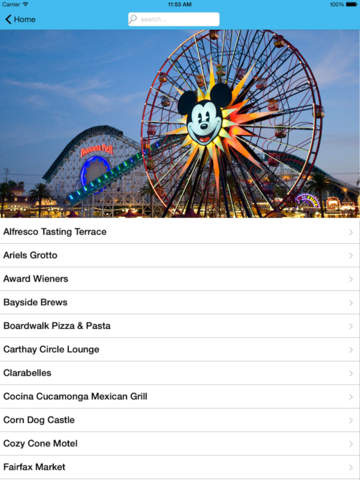 Restaurant Guide for Disneyland screenshot 8