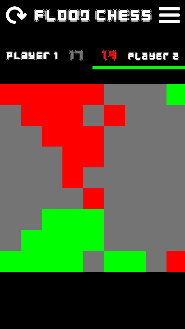 Color Flood Chess screenshot 1