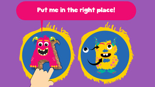 My first alphabet and letters monster puzzle Pro Jigsaw Game for toddlers and preschoolers screenshot 2