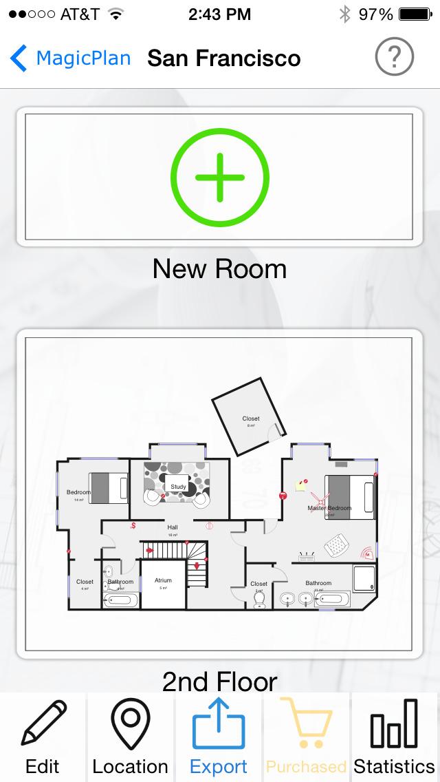 magicplan – 2D/3D floor plans screenshot 3