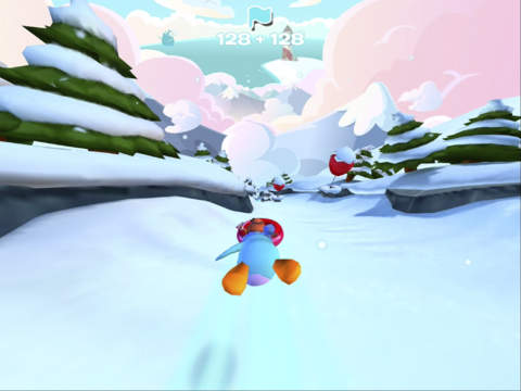 Club Penguin Sled Racer screenshot #3