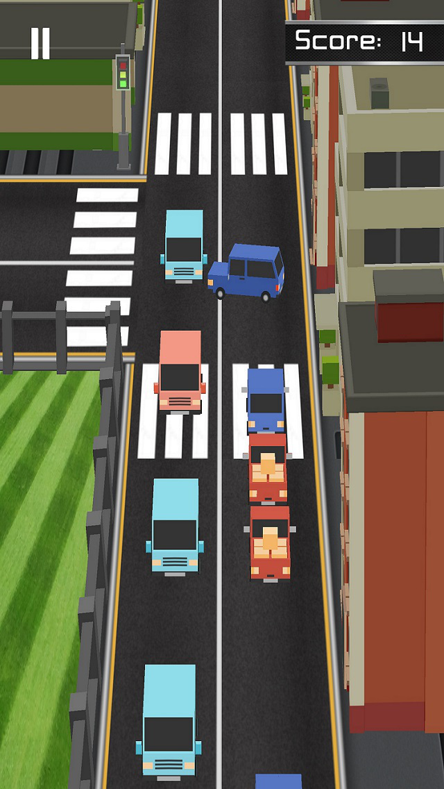Beat the traffic:Be road boss screenshot 4