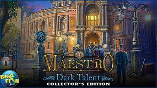 Maestro: Dark Talent - A Musical Hidden Object Game screenshot 5