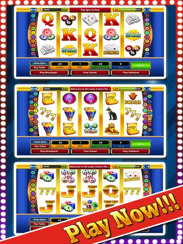 `Lucky Gold Rich Las Vegas Casino Coin Jackpot 777 Slots - Slot Machine with Blackjack, Solitaire, Bonus Prize Wheel screenshot 6