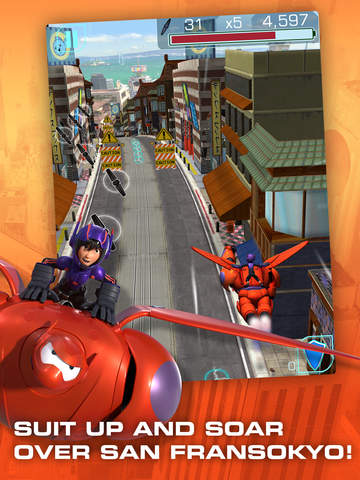 Big Hero 6: Baymax Blast screenshot 8