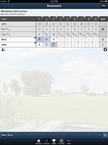 Wheatland Golf Club screenshot 9