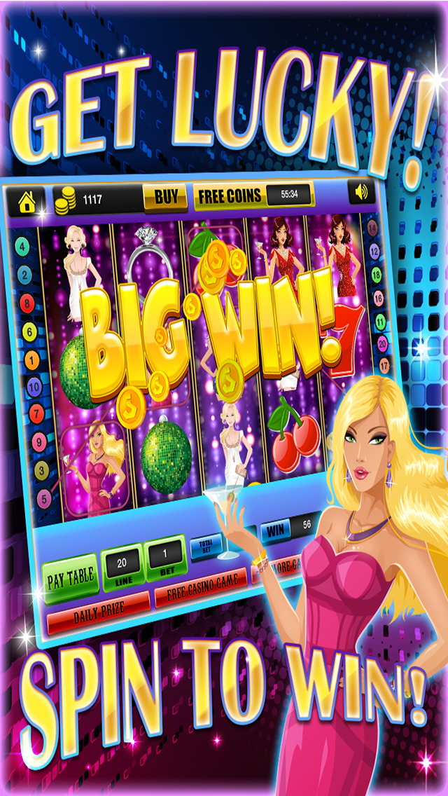 Ace Classic Rich Party Slots - Crazy Vegas Bash Casino Slot Machine Games Free screenshot 2