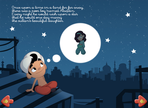 Aladdin - Multi Language book screenshot 6