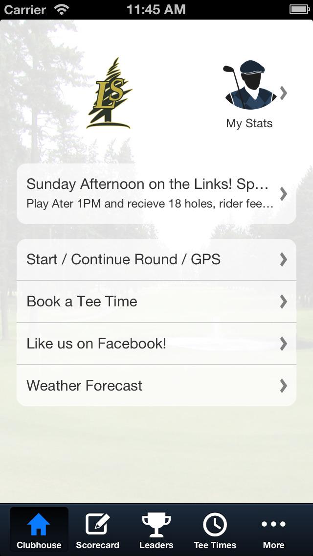 Lake Spanaway Golf Course screenshot 2