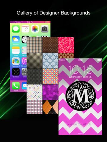 Screen Lock: Custom Screen Wallpaper and Background Editor screenshot 3