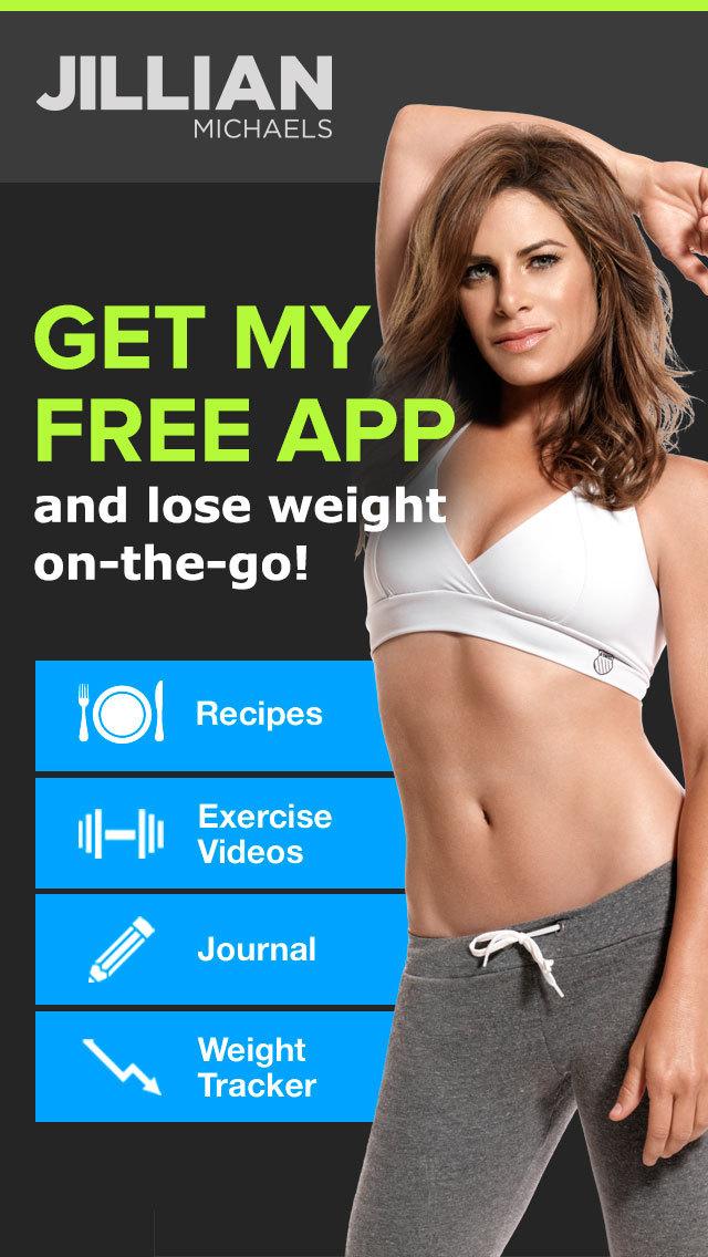 Jillian Michaels Slim-Down: Weight Loss, Diet, Fitness, Workout & Exercise Solution screenshot 1