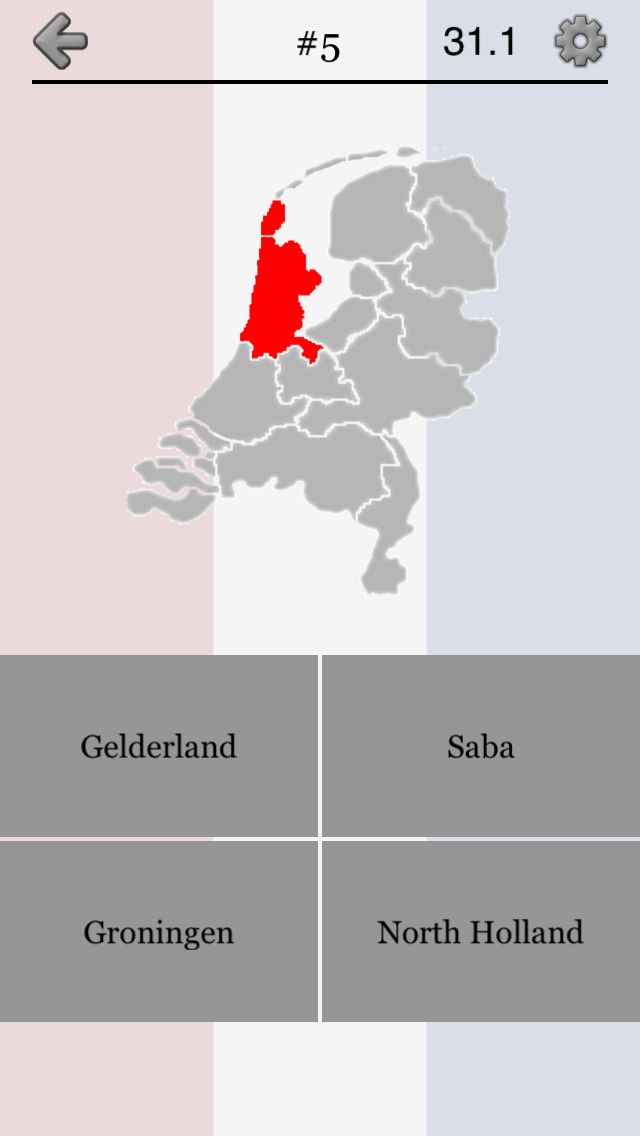 Provinces of the Netherlands screenshot 5